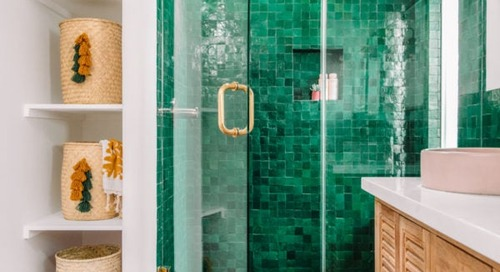 We're Calling It: This Shiny Glazed Tile Is the Next Big Thing