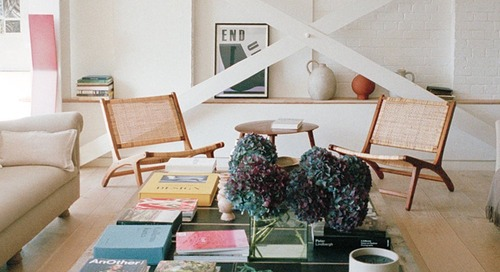 3 Coffee Table Styling Tricks to Steal From a London It Girl