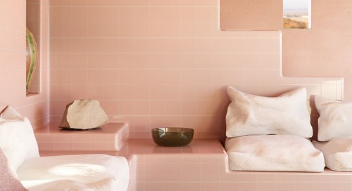 This Allover-Tiled House Pushes the Bath Material to the Max