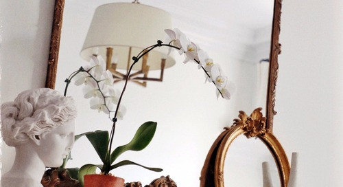 If You've Always Wanted a Parisian Mantel, This DIY Is Your Chance