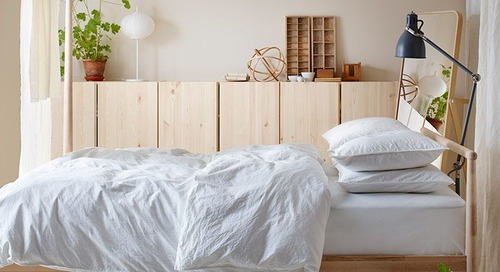 Clever IKEA Buys That Make Small-Space Living a Breeze