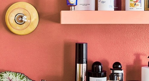 These $12 Shelves Saved My Morning Routine