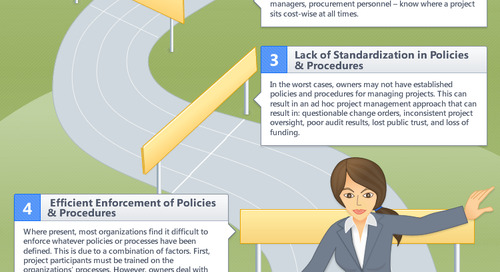 Top 5 Hurdles Facing Capital Project Owners: An Infographic