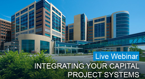 Integrating Your Capital Project Systems hosted by Inova