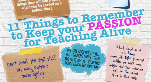 11 Things to Remember to Keep your Passion for Teaching Alive [Poster]