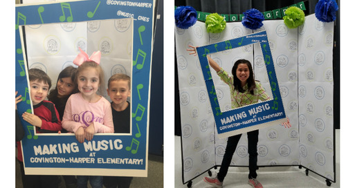 Celebrate Music in our Schools Month with a Concert Photo Booth