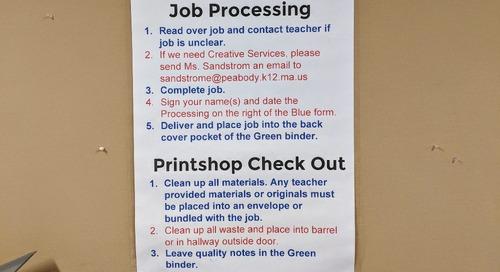 A Student-Run Print Shop Teaches CTE Skills at Higgins Middle School
