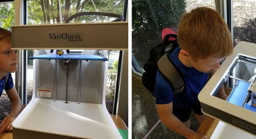 How 3D Printing is Benefiting Education at Holly Grove Elementary