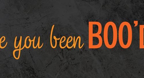 [Free Printables] Halloween Classroom Activity: You've been Boo'd!