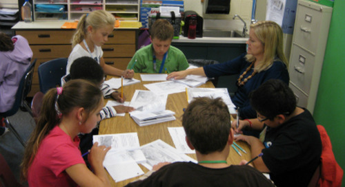 Using Text Dependent Questions for Deeper Comprehension