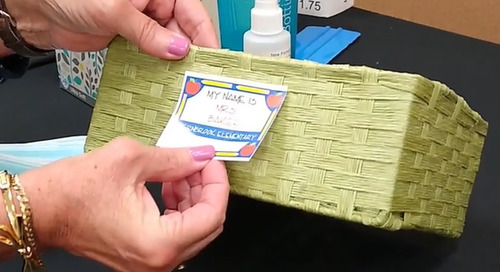 [Video] Creating Personalization Labels for the Classroom