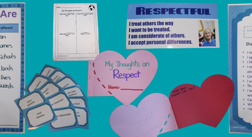 [Lesson Plan] Social-Emotional Learning for Elementary Students: Respect