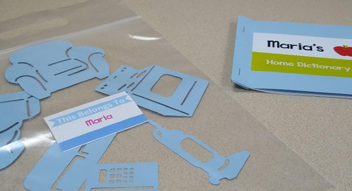 Lesson Plan Take-Home Activity for ELL: Labels for the Home