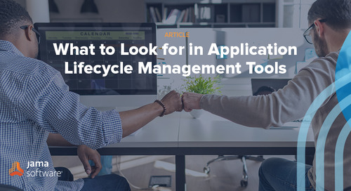 What to Look for in Application Lifecycle Management Tools