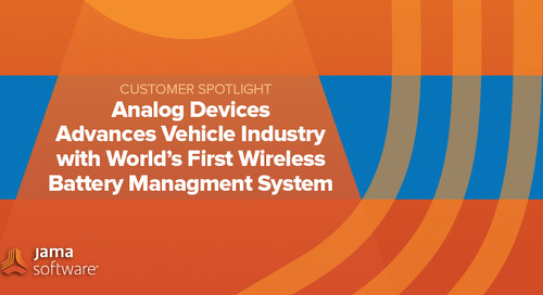 [SPOTLIGHT] Analog Devices Advances Electric Vehicle Industry with World's first Wireless Battery Management System