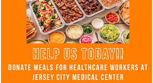 Help Us Donate Meals For Healthcare Workers