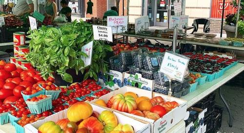 Farmer's Market Opening in Jersey City