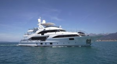 37-metre Lady Lillian delivered by Benetti