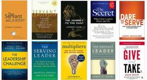 Servant Leadership: 12 Recommended Books for Aspiring Servant Leaders