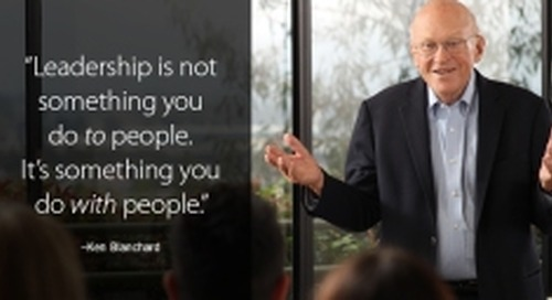 Servant Leadership: Ken Blanchard March 2018 Ignite Newsletter