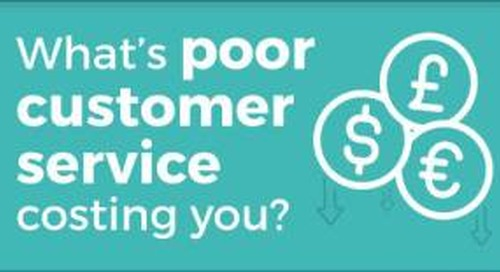 Infographic: What's Poor Customer Service Costing You?