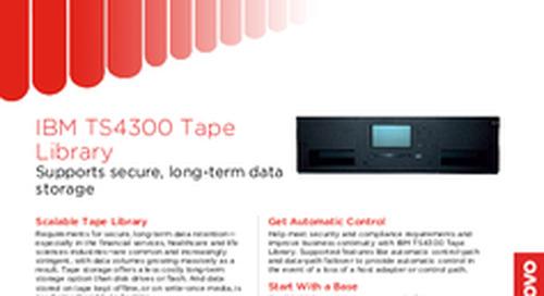 TS4300 Tape Library Datasheet