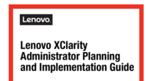 Lenovo XClarity Administrator Planning and Implementation Guide