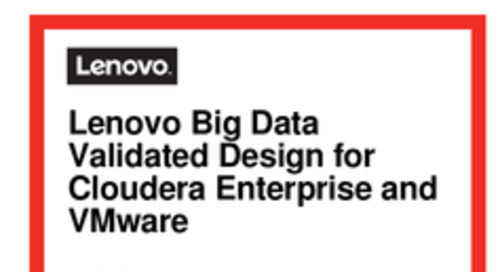 Lenovo Big Data RA for Cloudera Hadoop