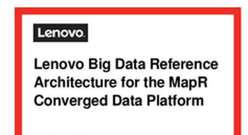 Lenovo Big Data RA for MapR Hadoop