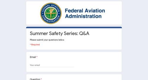 The FAA ✈️