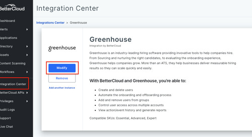How to Use Custom Triggers with a Greenhouse Integration in BetterCloud