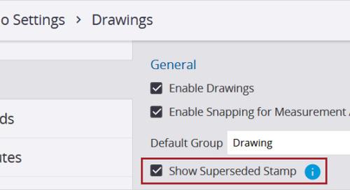 April Update - Drawing Enhancements