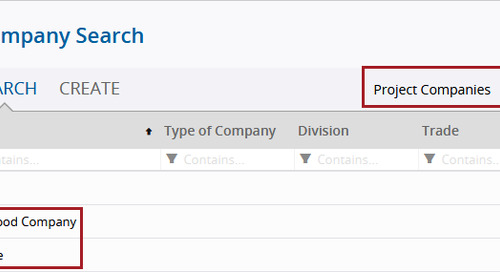March Update - New Company Field Enhancements