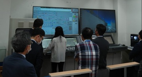 KR Opens LNG Fueled and Bunkering Simulation Center - The Maritime Executive