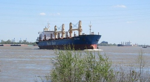 Project to Deepen Mississippi River Improves Access for Large Ships - The Maritime Executive
