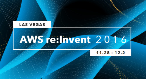 Join Matillion at AWS re:Invent 2016