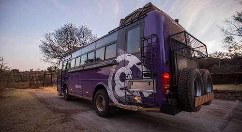 G Adventures Introduces New Overland Adventure Vehicle