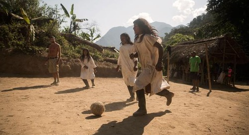No Translation Needed: playing soccer in Colombia's jungles