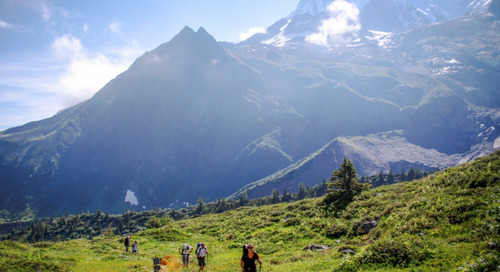 What are the days like on our Tour du Mont Blanc?