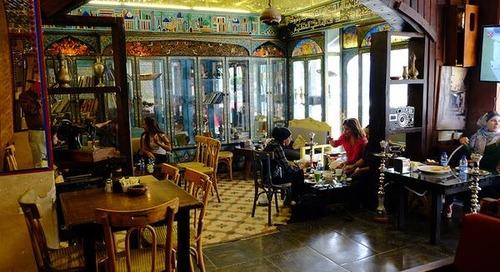 Café culture in Jordan