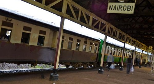 Africa's Epic Ride: Nairobi to Mombasa by Rail