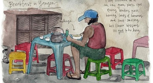 First Impressions: Burma Through the Eye of an Artist