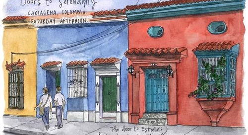 Terra Incognita: A watercolour introduction to Colombia