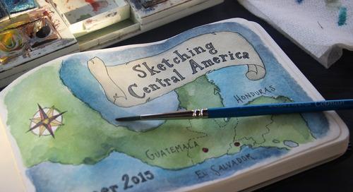 Capturing Guatemala: In praise of travel scrapbooks