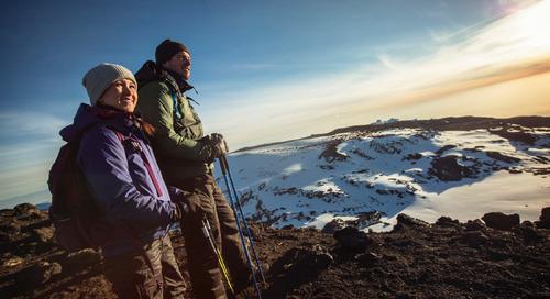 Virtually climb Mt Kilimanjaro with us