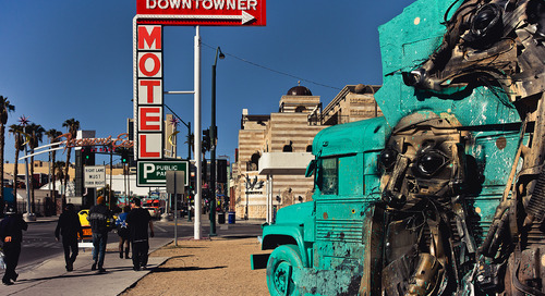 'The real Las Vegas': Checking out Sin City's hip, downtown Arts District