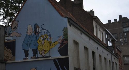 Getting animated on the Comic Book Route in Brussels