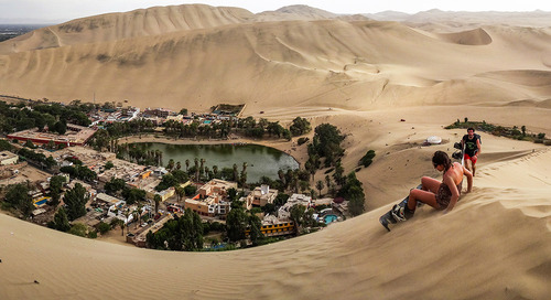 Huacachina: The last oasis of the Americas