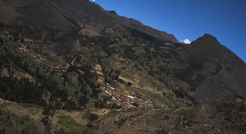 An unforgettable meal in Peru's Sacred Valley