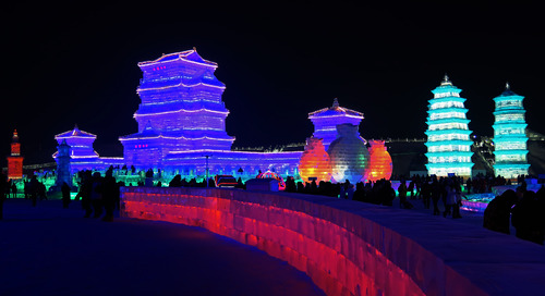 China's Harbin Ice Festival: By the numbers